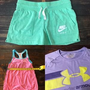 Youth Girls Nike Under Armour Lot Large